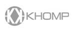 Logotipo Khomp